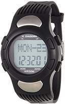 Diadora – di-018-01 – Target – Watch Men – Quartz – Digital – Black Rubber Strap LCD Dial