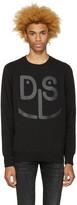 Diesel Black S-Joe-Mb Sweatshirt