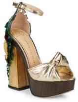 Charlotte Olympia Brazilian Bombshell Platform Sandals
