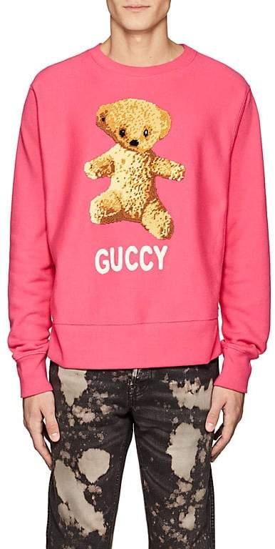 Gucci Men's Teddy Bear Cotton Sweatshirt