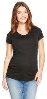 Liz Lange for Target Maternity V-Neck Short Sleeve T-Shirt - Liz Lange® for Target