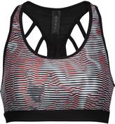 Koral Glow Versatility printed stretch-jersey sports bra