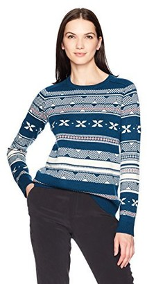 Pendleton Women's Fair Isle Merino Crew Neck Sweater