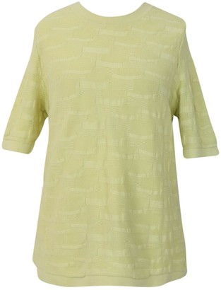 Cos Yellow Cotton Knitwear for Women