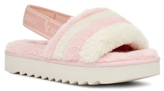 Koolaburra By Ugg Fuzzn Platform Sandal