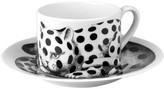 Fornasetti High Fidelity Teacup & Saucer - Pois