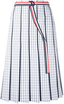 Thom Browne striped skirt - women - Cotton - 42