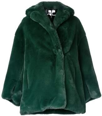 Courreges oversized coat