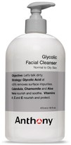Anthony Logistics For Men TM) Glycolic Facial Cleanser With Dispensing Pump