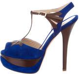 Fendi T-Strap Platform Sandals