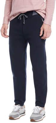 Brunello Cucinelli Men's Drawstring Jogger Sweatpants