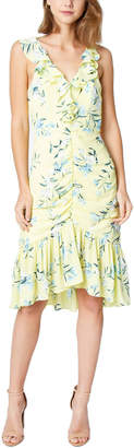 Sugar Lips Sugarlips Petunia Ruched Floral Dress