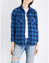 NSF Kimberly checked flannel shirt