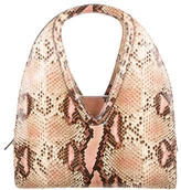 Salvatore Ferragamo Python Shoulder Bag