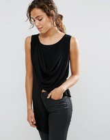 Love Drape Asymmetric Top
