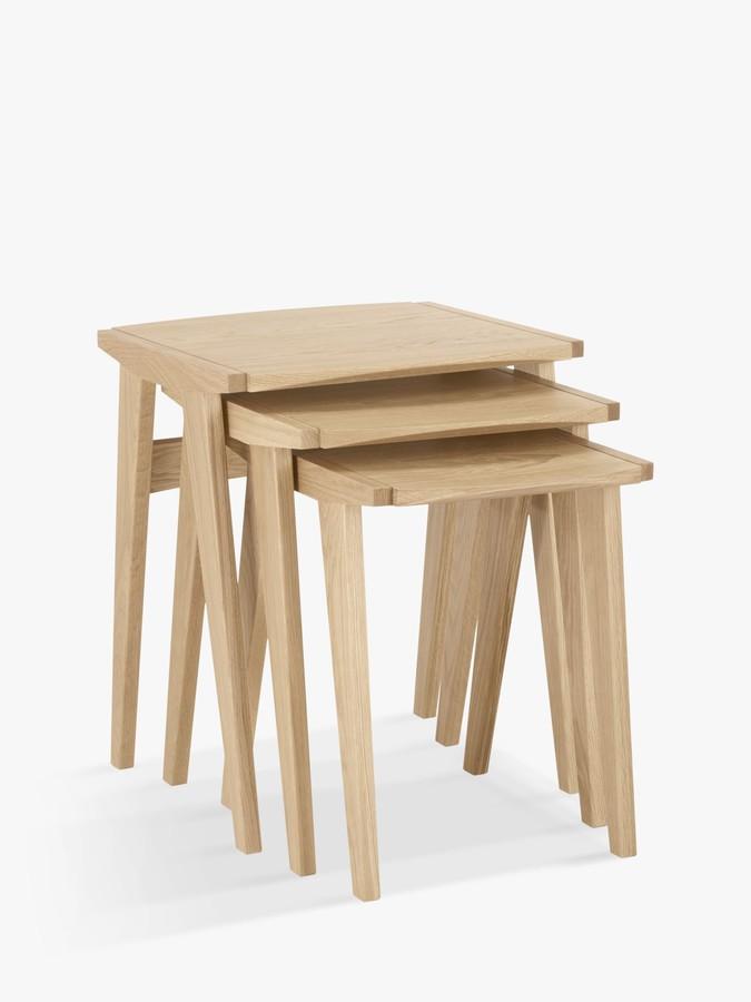 John Lewis & Partners Duhrer Nest of 3 Tables