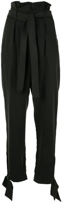 Reformation Avalon paperbag-waist trousers