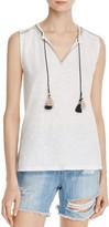 Soft Joie Sayuki Embroidered Sleeveless Top