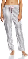 Cyberjammies Lotus Flower Mix Gingham Check Pant 3010