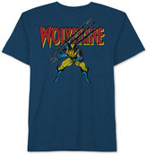 JEM Men's Wolverine Slashed Graphic-Print T-Shirt