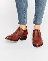 Frye Billy Shootie Western Leather Shoe Boots