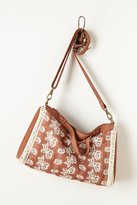 Anthropologie Bloom-Stitch Satchel