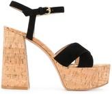 Gianvito Rossi cork platform sandals