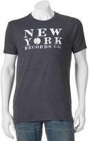 "Men's SONOMA Goods for LifeTM ""New York Records Co."" Tee"