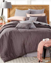 Baltic Linens CLOSEOUT! Washed Linen 14-Pc. Queen Comforter Set