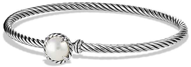 David Yurman Ch'telaine Bracelet with Pearls