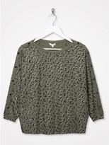 M&Co Sonder Studio Leopard sweatshirt