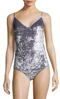 Sam Edelman Crushed Velvet Bodysuit