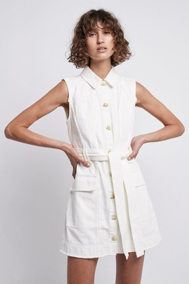 Aje Framework Denim Sleeveless Dress