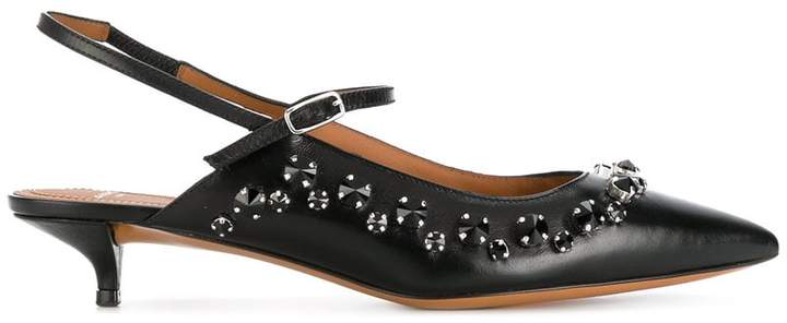 Givenchy embellished slingback pumps