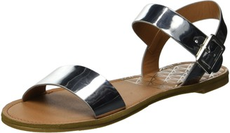 Qupid Women's Two-Piece Sandal Flat