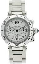 Cartier Men's W31089M7 Pasha Seatimer Chronograph Watch