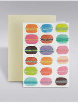 Marks and Spencer Glitter Macaroons Card
