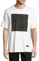 Rag & Bone Camo Box T-Shirt, White