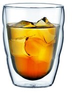 Bodum PILATUS Glass Set (Double-Walled, Isolated, Dishwasher Safe, 0.35 L/12 oz) - Pack of 2, Transparent