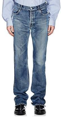 Balenciaga Men's Flared Mid-Rise Jeans - Lt. Blue
