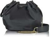 Diane von Furstenberg Love Power Satin Mini Bucket Bag