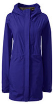 Lands' End Women's Tall Breakwater Rain Parka-Bright Cherry