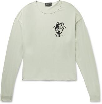 Enfants Riches Deprimes Silver Spoon Printed Cotton-Jersey T-shirt - Men - Green