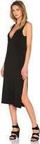 LnA Extreme V Column Dress