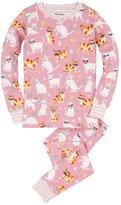 Hatley Girl's Cool Cats Pajama Set