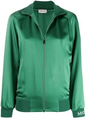Moncler Side Stripe Zipped Sweatshirt