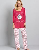 Pretty Secrets Motif Pyjama Set