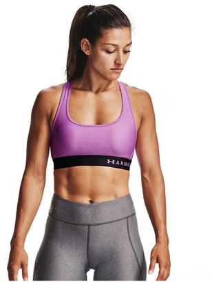 Under Armour Womens Mid Crossback Sports Bra