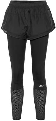 adidas by Stella McCartney Essential Shorts Over Tights leggings