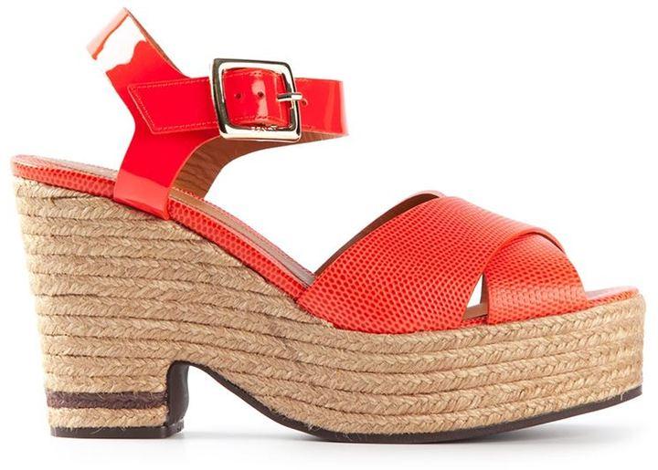 Fendi platform sandal